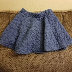 Adorable  girls quilted skirt